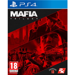 PS4 game Mafia Trilogy: Definitive Edition PS4MAFIATRI
