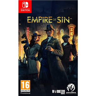 Switch mäng Empire of Sin