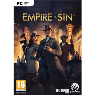 PC game Empire of Sin 4020628726003