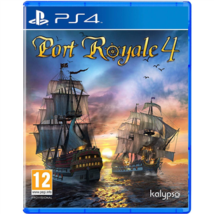 PS4 mäng Port Royale 4