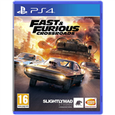 PS4 mäng Fast & Furious Crossroads