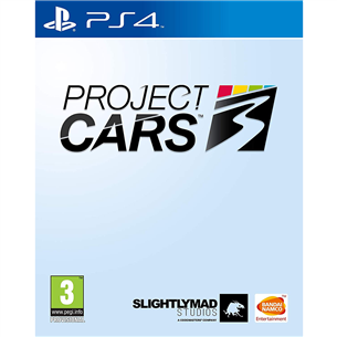 PS4 game Project CARS 3 3391892011692