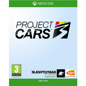 Xbox One game Project CARS 3 3391892011784