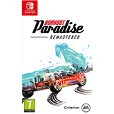 Игра для Nintendo Switch, Burnout Paradise Remastered