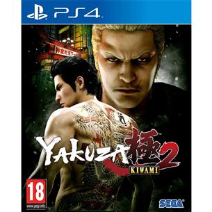 PS4 mäng Yakuza Kiwami 2