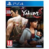 PS4 mäng Yakuza 6: The Song of Life