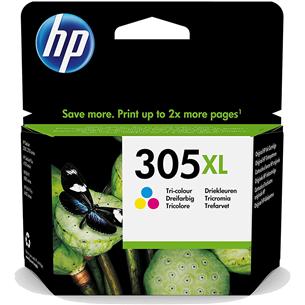 Tindikassett HP 305XL (värviline)