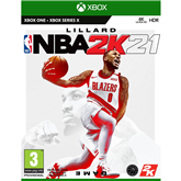 Xbox One / Series X/S mäng NBA 2K21