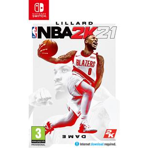 Switch mäng NBA 2K21 (eeltellimisel)