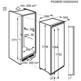 Built-in cooler Electrolux (177 cm)