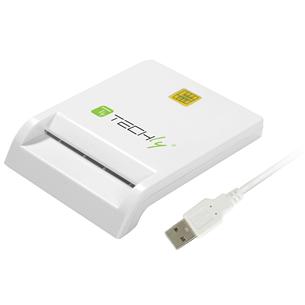 Считыватель ID-карты Techly Compact USB 2.0