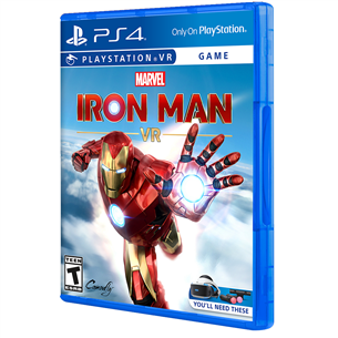 PS4 VR game Iron Man 711719943204