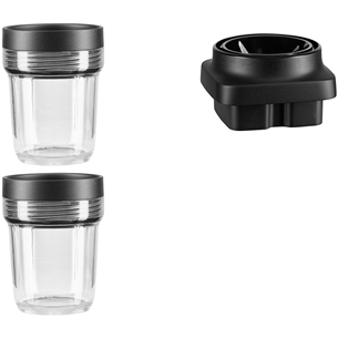 Small Jars and blades for K400 blender KitchenAid  (2 x 200 ml) 5KSB2040BBB