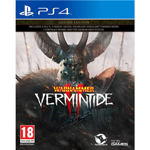 PS4 mäng Warhammer: Vermintide 2