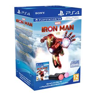 Пульт Sony Move Bundle + игра Iron Man VR