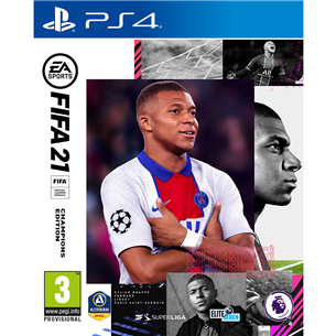 PS4 mäng FIFA 21 Champions Edition (eeltellimisel)