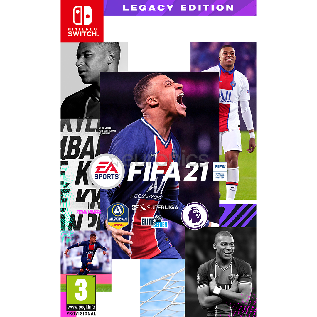 Switch Game Fifa 21 5030942123500