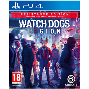 Игра Watch Dogs: Legion Resistance Edition для PlayStation 4 PS4WDLEGION
