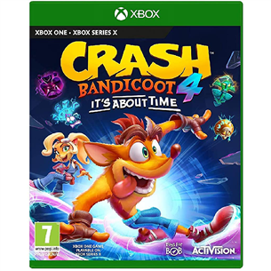 Xbox One / Series X/S game Crash Bandicoot 4: It's About Time