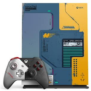 Mängukonsool Microsoft Xbox One X (1 TB) + Cyberpunk 2077