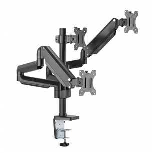 Monitor desk mount Essentials Triple Gaslift (13-27'') 4897076692811