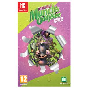 Игра Oddworld: Munch's Oddysee Limited Edition для Nintendo Switch 3760156485331