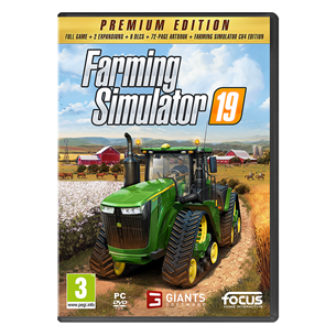 PC game Farming Simulator 19 Premium Edition 3512899123359