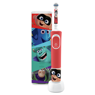 Electric toothbrush Braun Oral-B PIXAR + travel case