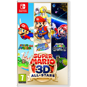 Switch game Super Mario 3D All Stars 045496426729