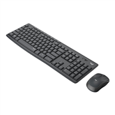 Wireless keyboard + mouse Logitech Slim Combo MK295 (SWE)
