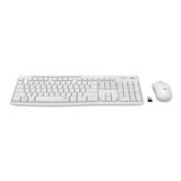 Juhtmevaba klaviatuur + hiir Logitech Slim Combo MK295 (SWE)