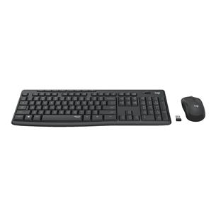 Juhtmevaba klaviatuur + hiir Logitech Slim Combo MK295 (RUS)