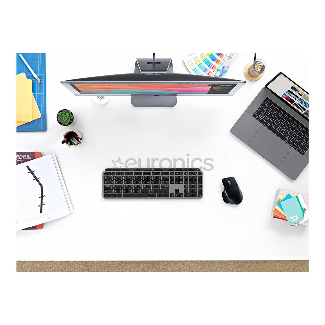 Juhtmevaba klaviatuur Logitech MX Keys for Mac (SWE)