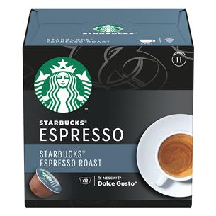 Coffee capsules Starbucks Nescafe Dolce Gusto Espresso Roast 7613036940474