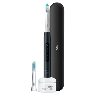 Elektriline hambahari Braun Oral-B Pulsonic Slim Luxe 4500 LUXE4500BLACK