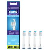Насадки для зубной щетки Braun Oral-B Pulsonic (Regular 4 шт)