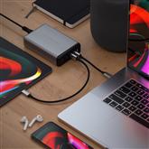 Vooluadapter Satechi 2x USB-C ja 2x USB-A (108 W)