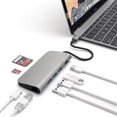 USB-C jagaja Multi-port 4K ja Ethernet Satechi