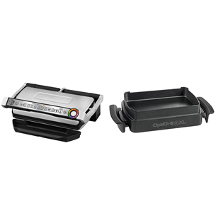 Table grill Tefal Optigrill+XL + Snacking and baking accessory GC724D12