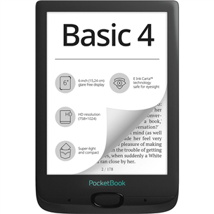 Электронная книга PocketBook Basic 4 PB606-E-WW