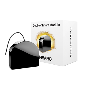 Relee kahe väljundiga Fibaro Double Smart Module (Z-Wave Plus)