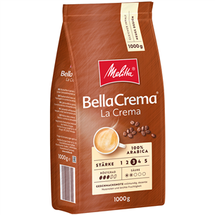 Coffee beans BellaCrema Cafe La Crema, Melitta 008102
