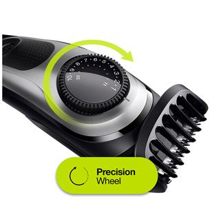 Beard trimmer Braun + Gillette Fusion razor