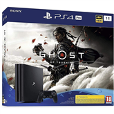 Игровая приставка Sony PlayStation 4 Pro (1 TБ) + Ghost of Tsushima