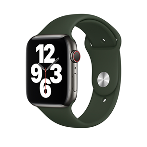 Vahetusrihm Apple Watch Cyprus Green Sport Band - Regular 44mm