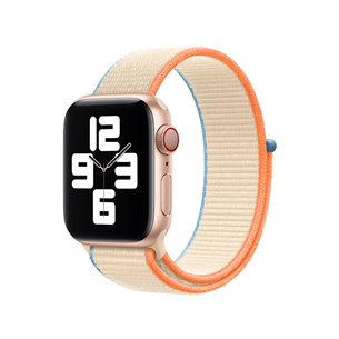 Vahetusrihm Apple Watch Cream Sport Loop 40mm