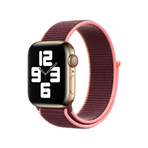 Vahetusrihm Apple Watch Plum Sport Loop 40mm