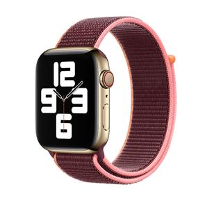 Vahetusrihm Apple Watch Plum Sport Loop 44mm