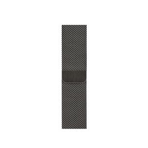 Vahetusrihm Apple Watch Graphite Milanese Loop 40mm