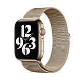 Vahetusrihm Apple Watch Gold Milanese Loop 44mm